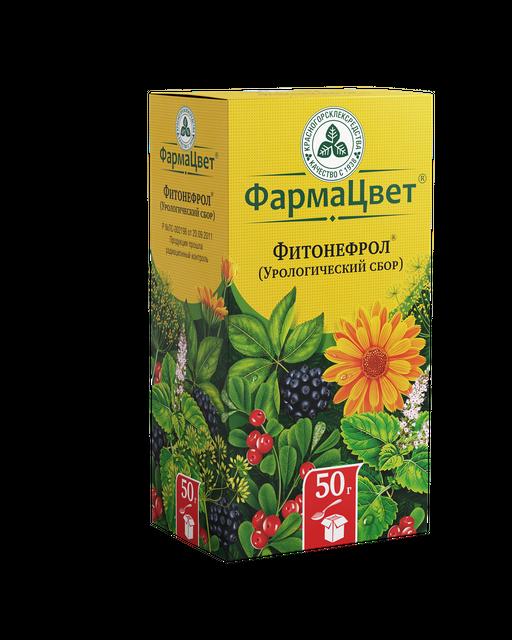 Фитонефрол (Урологический сбор), сырье растительное измельченное, 50 г, 1шт.