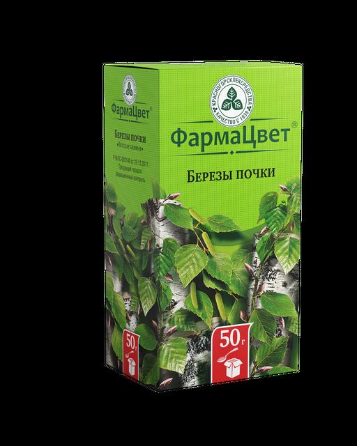 Березы почки, лекарственное растительное сырье, 50 г, 1шт.