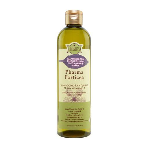 Greenpharma шампунь Pharma Forticea против выпадения волос, 500 мл, 1шт.