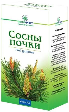 Сосны почки, лекарственное растительное сырье, 50 г, 1шт.