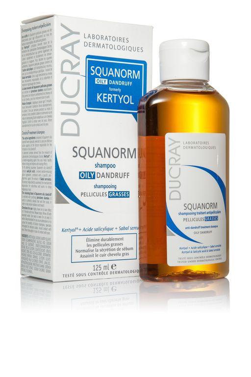 Ducray Squanorm шампунь от жирной перхоти, шампунь, 200 мл, 1шт.