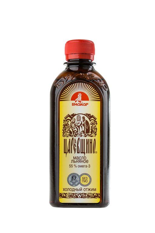 Масло льняное Царевщино, масло для приема внутрь, 250 мл, 1шт.