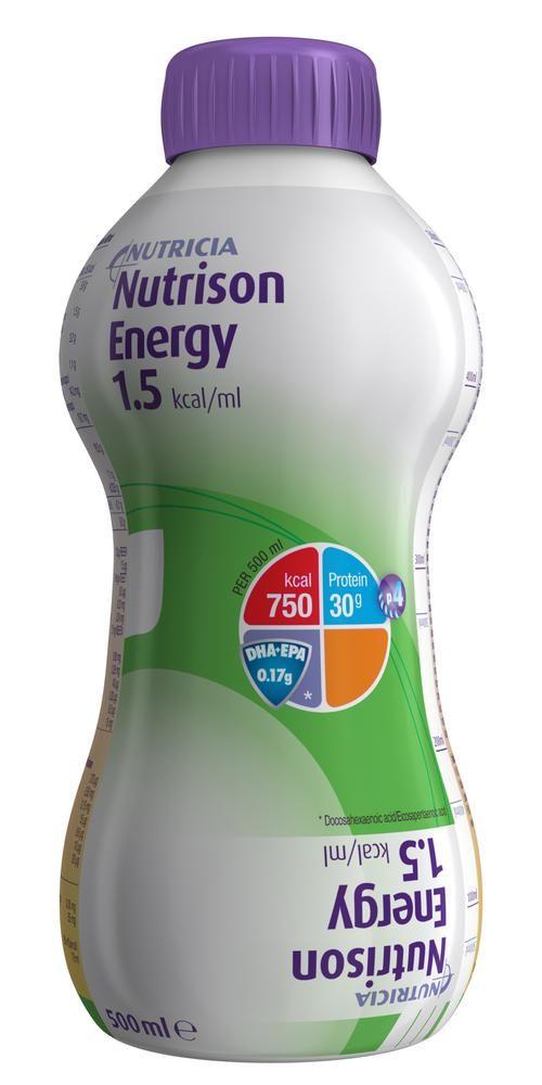 Nutrison Energy, смесь жидкая, 500 мл, 1шт.