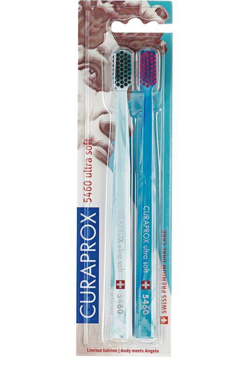 Curaprox Ultrasoft Michelangelo 5460 Набор зубных щеток, 10 мм, 2шт.