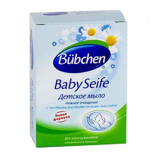 Bubchen Мыло детское, мыло детское, ромашка, 125 г, 1шт.