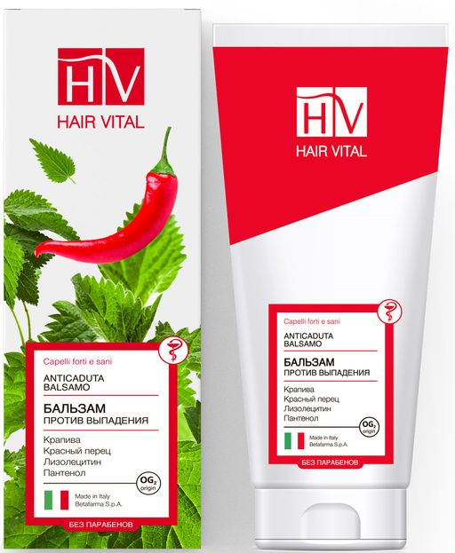 Hair Vital бальзам против выпадения волос, бальзам для волос, 200 мл, 1шт.