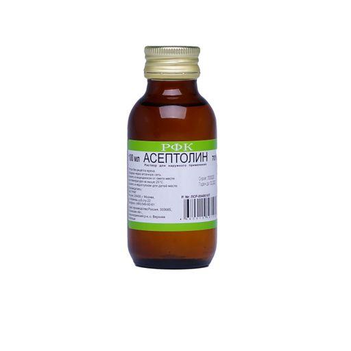 Асептолин, 70%, раствор для наружного применения, 100 мл, 1шт.