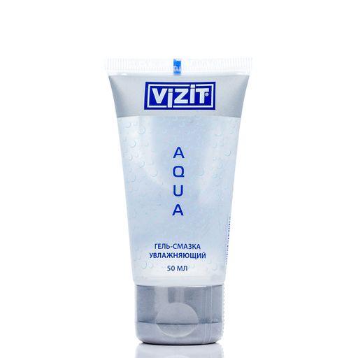 Гель-смазка Vizit Aqua, гель, 50 мл, 1шт.