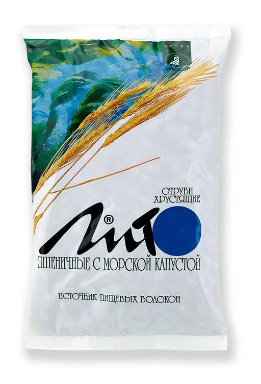 Отруби пшеничные хрустящие Лито с кальцием и морской капустой, гранулы, 200 г, 1шт.