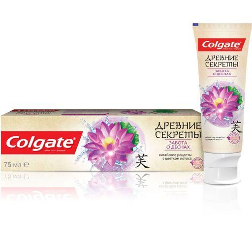 Colgate Паста зубная Древние Секреты Забота о деснах, паста, 75 мл, 1шт.
