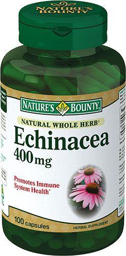 Natures Bounty Эхинацея натуральная 400 мг, 400 мг, капсулы, 100шт.