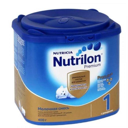 Nutrilon 1 Premium, смесь молочная сухая, 400 г, 1шт.