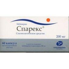 Спарекс, 200 мг, капсулы пролонгированного действия, 60шт.