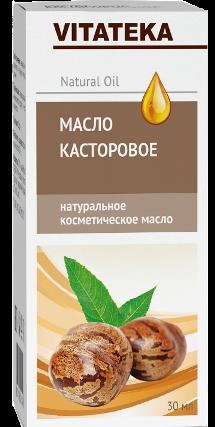 Витатека Масло касторовое, масло косметическое, 30 мл, 1шт.
