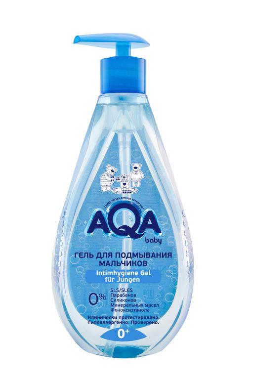 AQA baby гель для подмывания мальчиков, 400 мл, 1шт.