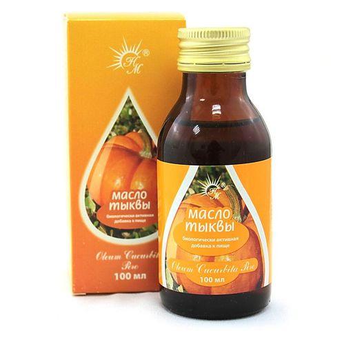 Масло семян тыквы, масло для приема внутрь, 100 мл, 1шт.