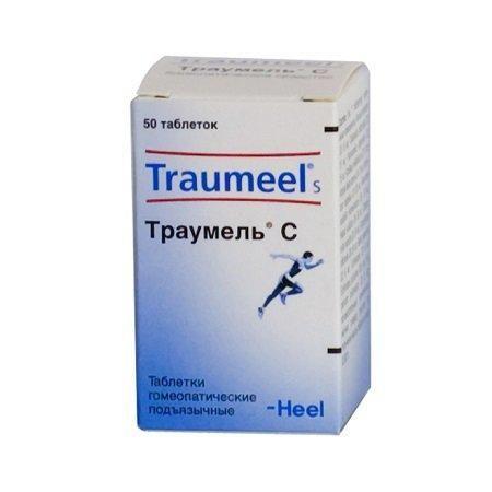 Траумель С, таблетки для рассасывания гомеопатические, 50шт.