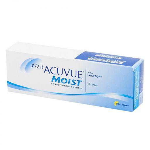 1-Day Acuvue Moist Линзы контактные Однодневные, BC=8,5 d=14,2, D(-1.50), стерильно, 30шт.