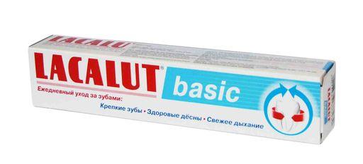 Lacalut Basic Зубная паста, паста зубная, 75 мл, 1шт.