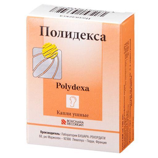 Полидекса, капли ушные, 10.5 мл, 1шт.
