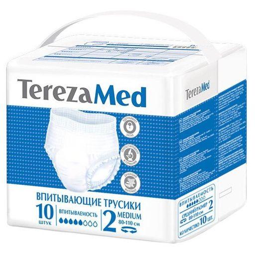 TerezaMed подгузники-трусики для взрослых, Medium M (2), 80-110 см, 10шт.