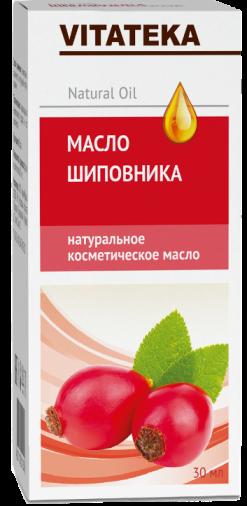 Витатека Масло шиповника, масло косметическое, 30 мл, 1шт.