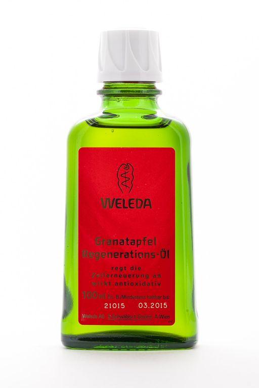 Weleda Масло для тела восстанавливающее гранатовое, масло косметическое, 100 мл, 1шт.