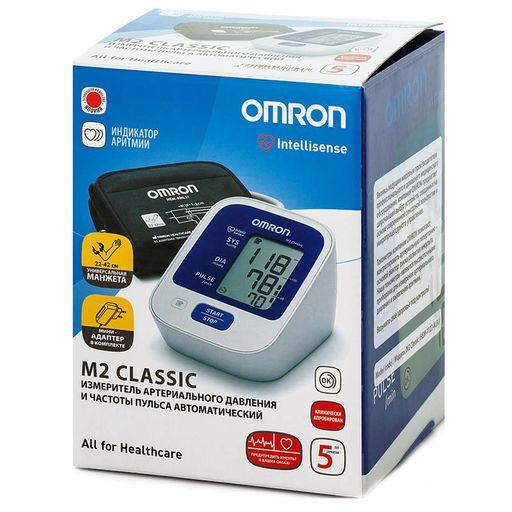 Тонометр автоматический OMRON М2 Classic, 1шт.