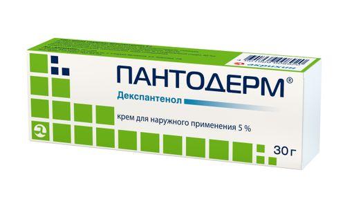 Пантодерм, 5%, крем для наружного применения, 30 г, 1шт.