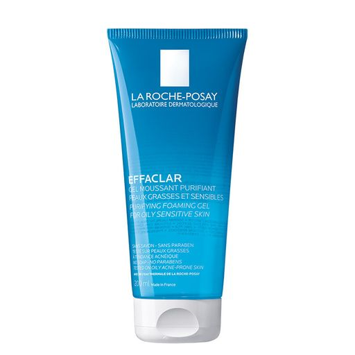 La Roche-Posay Effaclar очищающий пенящийся гель, гель для умывания, 200 мл, 1шт.