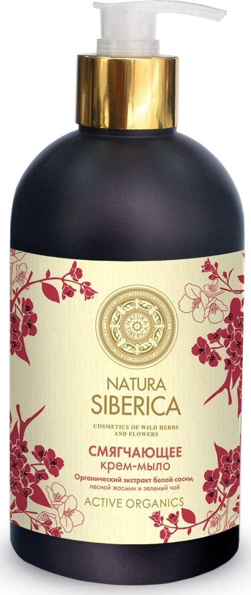 Natura Siberica крем-мыло смягчающее, мыло жидкое, 500 мл, 1шт.