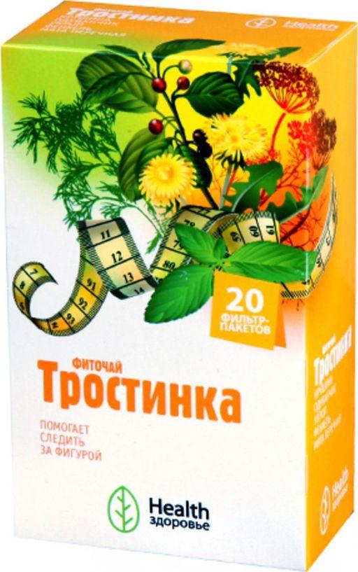 Фиточай Тростинка, сырье растительное измельченное, 2 г, 20шт.