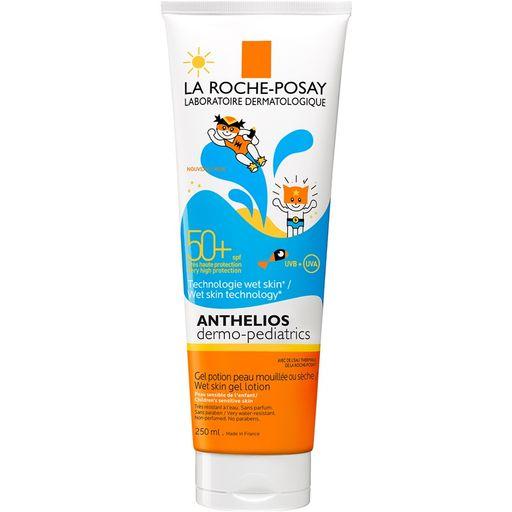 La Roche-Posay Anthelios Wet skin SPF50+ гель солнцезащитный для детей, для нанесения на влажную кожу, 250 мл, 1шт.