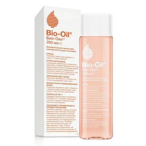 Bio-Oil, масло косметическое, 200 мл, 1шт.