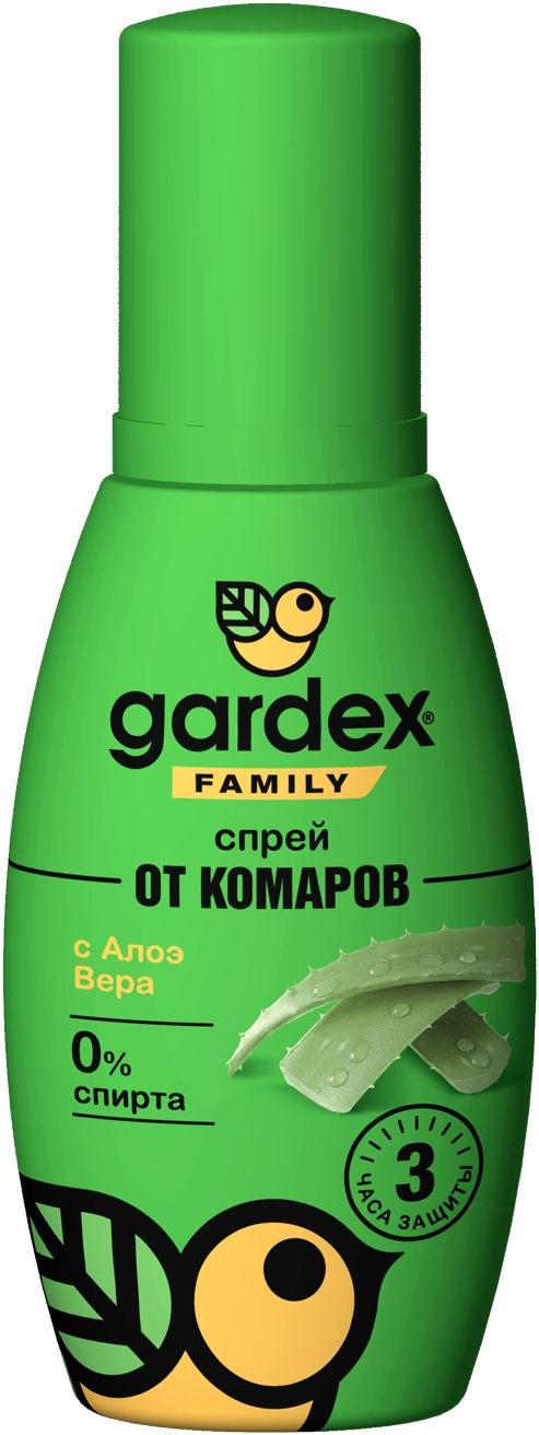 Gardex Family Спрей от комаров, 100 мл, 1шт.