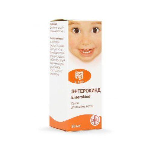 Энтерокинд, капли для приема внутрь гомеопатические, 20 мл, 1шт.