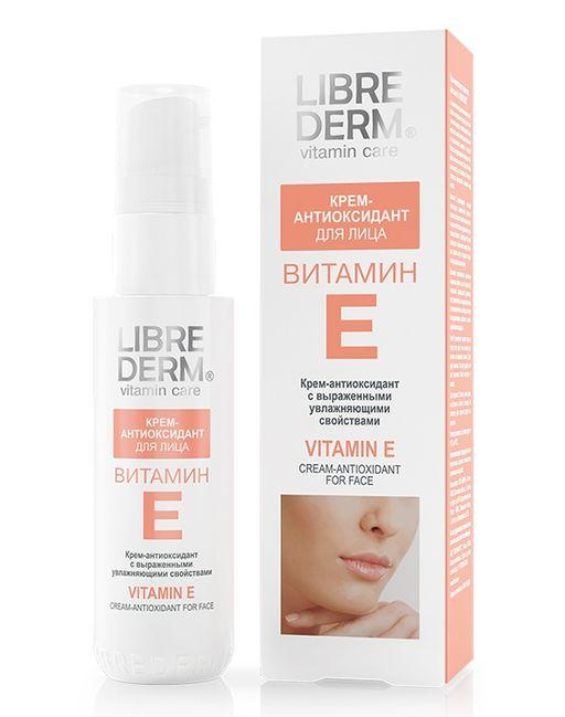 Librederm  Витамин Е Крем-антиоксидант для лица, крем, 50 мл, 1шт.