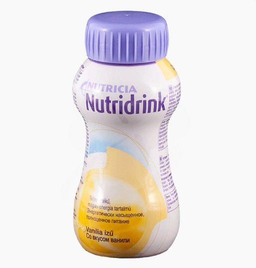 Nutridrink, жидкость для приема внутрь, со вкусом ванили, 200 мл, 1шт.