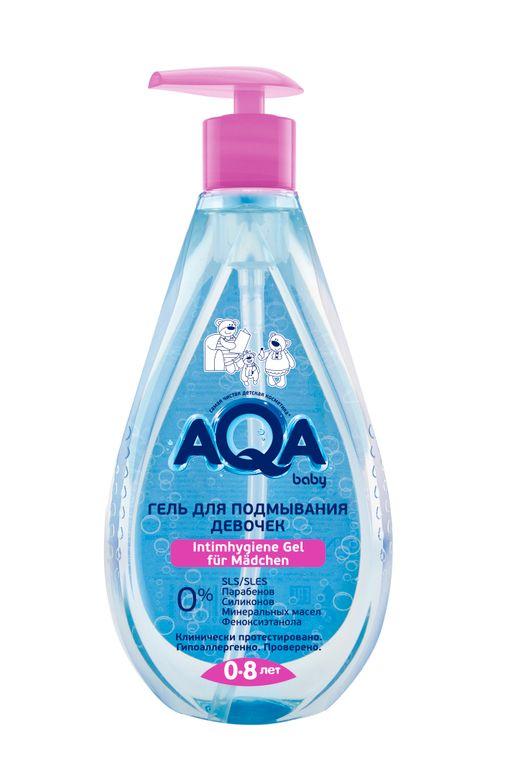 AQA baby гель для подмывания девочек, 400 мл, 1шт.