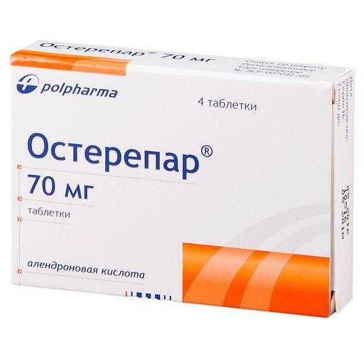 Остерепар, 70 мг, таблетки, 4шт.