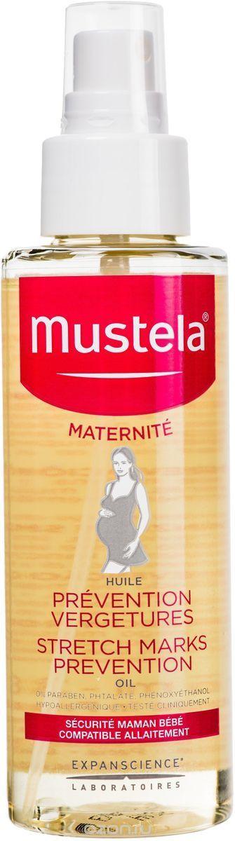 Mustela Maternite Масло для профилактики растяжек, масло косметическое, 105 мл, 1шт.
