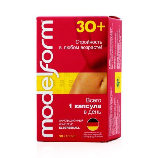Модельформ 30+, 370 мг, капсулы, 30шт.