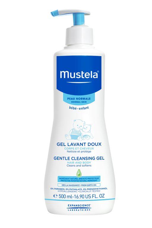 Mustela мягкий гель для купания, гель для душа, 500 мл, 1шт.