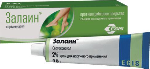 Залаин, 2%, крем для наружного применения, 20 г, 1шт.