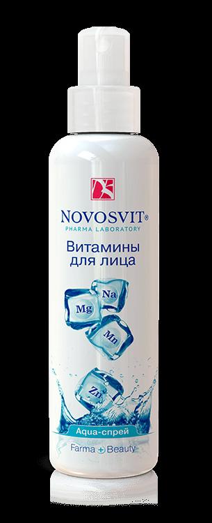 Novosvit Витамины для лица аква-спрей, спрей, 190 мл, 1шт.