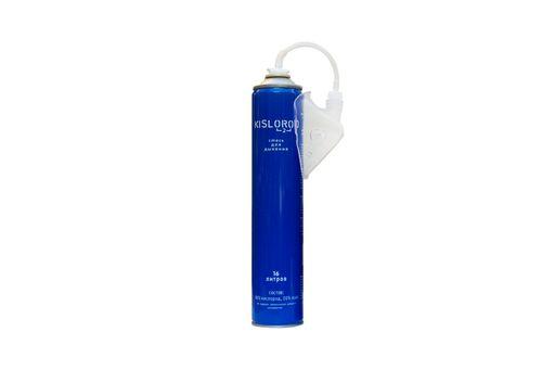 Кислородный баллончик медицинский индивидуальный K16L-М с маской, кислород 80%, азот 20%, 16 л, 1шт.
