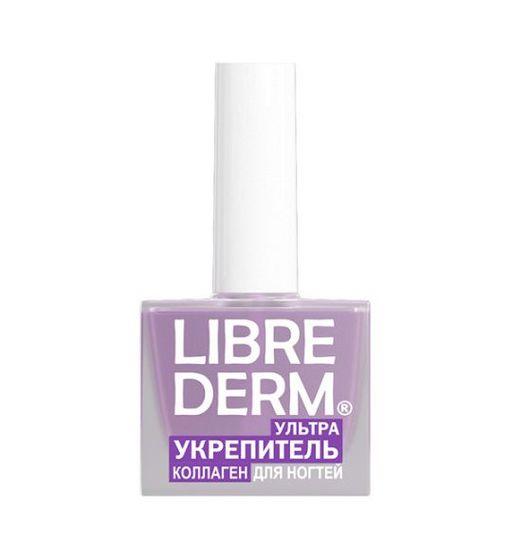 Librederm Лак Ультраукрепитель коллаген, лак для ногтей, 10 мл, 1шт.