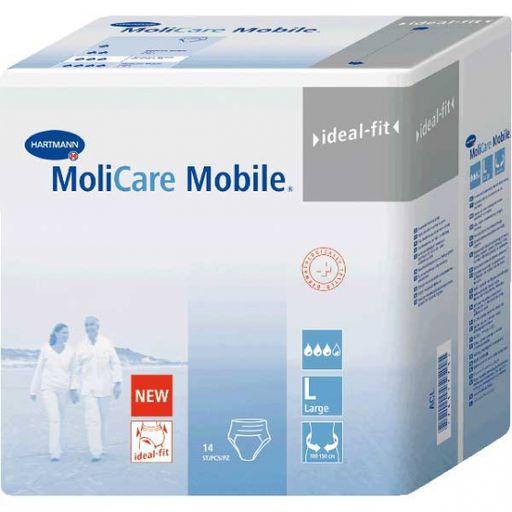 Подгузники-трусы MoliCare Mobile, Large L (3), 100-150 см, 14шт.