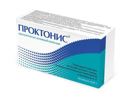 Проктонис, 0.27 г, капсулы, 60шт.