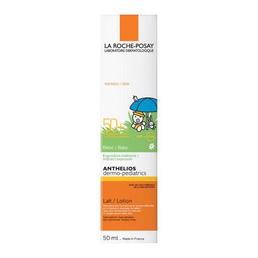 La Roche-Posay Anthelios SPF50+ молочко солнцезащитное для младенцев и детей, 50 мл, 1шт.